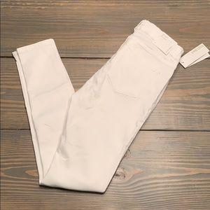 Ellen Tracy Denim White Skinny Jeans